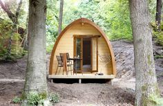 Sleeping in a Pod with the luxury of a hotel room in National Park Veluwezoom - Velp Pod Rental, Water Playground, Days Out With Kids, Getaway Cabins, Small Studio, Close To Home, Glamping, Lodges, Netherlands