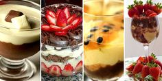 You searched for - Portal Tudo Aqui Oreo Cookies, Trifle, Christmas Treats, Food Art, Panna Cotta, Food And Drink, Cooking Recipes, Favorite Recipes, Yummy Food