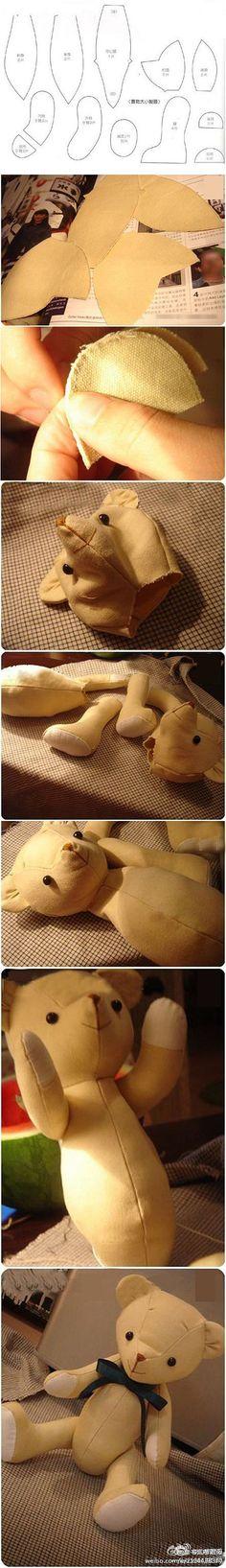 Teddy bear to do so!