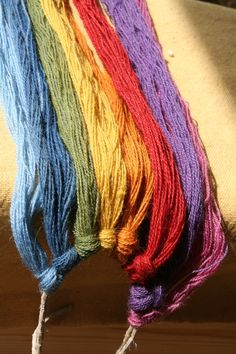 Good VA colour selection - natural dyes of the times - Stiklestadir 2010 (Viking Average)