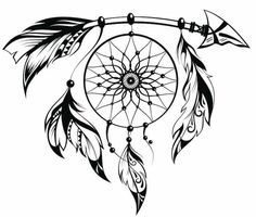 Free Dream Catcher Coloring Pages Unique Heart Shaped Dreamcatcher Drawing at Getdrawings Atrapasueños Tattoo, Hand Tattoo, Tattoo Hals, Body Art Tattoos, Tattoo Drawings, Sleeve Tattoos, Tribal Drawings, Cross Tattoos, Girl Tattoos