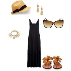 Beach Wear, created by kbrand on Polyvore