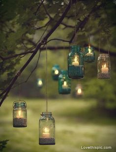 Hanging Glass Jar Candles Pictures, Photos, and Images for Facebook, Tumblr, Pinterest, and Twitter
