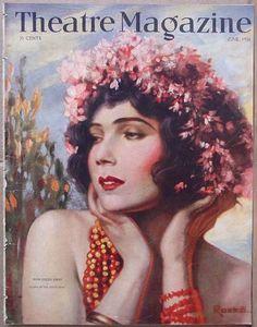 Gilda Gray - Theatre Magazine - June 1926