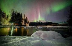 Aurora Borealis - Alaska - Frank Lynn Pierce