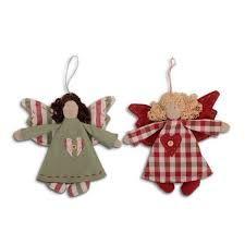 handmade fabric christmas ornaments - Google Search | roses ...