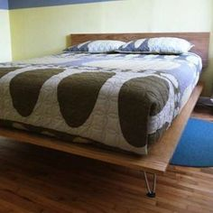 http://www.bobvila.com/slideshow/sweet-dreams-15-inventive-beds-you-can-make-yourself-45808?bv=relss #diybedframesplywood