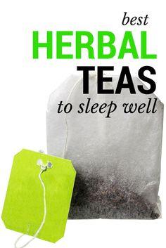 The best herbal teas so you can sleep well