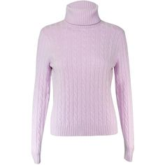 Cable Knit Turtleneck Sweater ($54) ❤ liked on Polyvore featuring tops, sweaters, pink cashmere sweater, cashmere turtleneck, turtleneck sweaters, cable turtleneck sweater and cable knit sweater