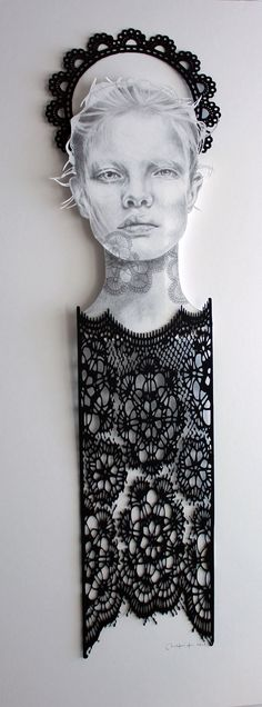 Christine Kim, Cut paper #art