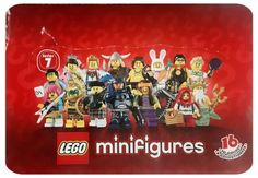 LEGO Minifigures Series 7 (8831) Complete Set 16 Figures. New & Factory Sealed.