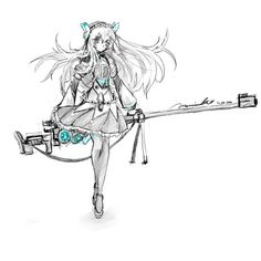 morrisuki:  Did a late night sketch of Chaika: The Coffin Princess.