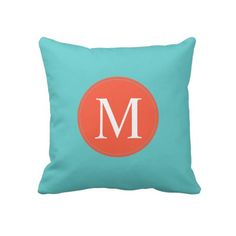 Pillow | Duo-tone Monogram