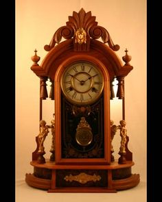 New Haven 'Occidental' American Parlor Clock