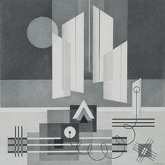 Ascending, por Emil Bisttram, 1930