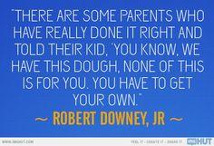 Robert Downey Jr. Quote...