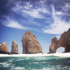Cabo, Mexico. <3 It really was beautiful
