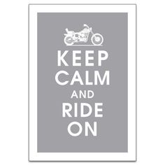 I do miss riding with the hubby. Might have to do retro motorcycle theme for baby Nursery.  Keep Calm Ride on 13x19 Poster Motorcycle Dolphin by KeepCalmShop, $15.95