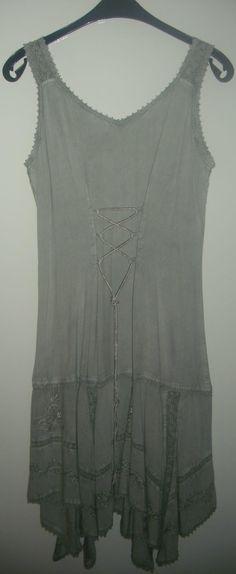 Ebay kleid grau
