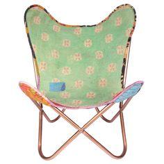 Kantha Sling Chair XX by Karma Living