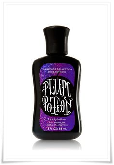 Blast from the Beauty Past: Bath Body Works Halloween Body Lotion Plum Potion Black Candy Apple Wicked Spiced Pumpkin Scream a Colada Sinful Vanilla Spiced Cider