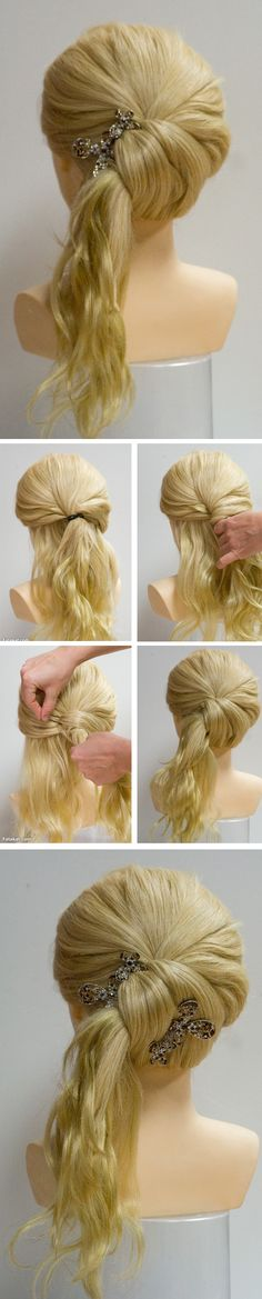 Twist pony tail