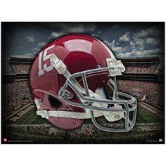 Alabama Crimson Tide Colossal Helmet Football Poster - $11.99