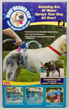 Woof Washer 360 As Seen On TV Pet Washer Adjustable Small To Large Dogs! - http://pets.goshoppins.com/dog-supplies/woof-washer-360-as-seen-on-tv-pet-washer-adjustable-small-to-large-dogs/