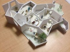 a f a s i a: Akihisa Hirata Architecture Panel, Architecture Student, Architecture Drawings, Concept Architecture, Interior Architecture, 3d Architect, Contemporary Art Daily, Arch Model, Villa Design