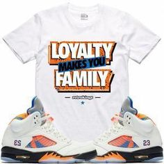 25340903de10da Air Jordan 5 Barcelona Sneaker Tees Shirt - LOYALTY RK  Sneakers Air Jordan  Sneakers