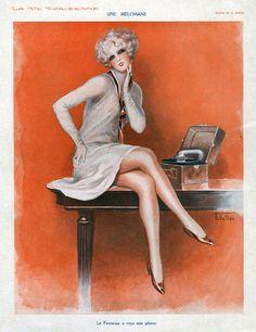La Vie Parisienne  1920s - Armand Vallee