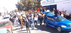 Cuauhtémoc también se manifiesta en vs del gasolinazo: ¡Fuera Peña Nieto! | El Puntero