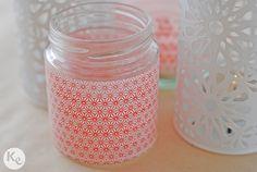 washi tape jar