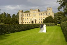 Wedderburn Castle - with a very happy couple