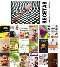 """Recetas para chuparse los dedos. Libros de cocina. Una """"mirilla"""" de la Biblioteca Municipal de Móstoles. http://bibliotecademostoles.wordpress.com/"""