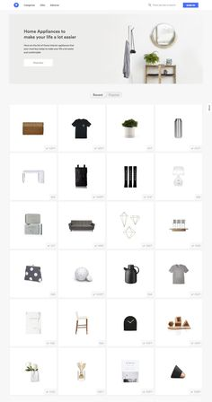 The edit of high-design goods that your news-feed needs Interior Design Website, Homepage Design, Email Design, Ui Ux Design, Web Layout, Layout Design, Digital Web, Portfolio Web Design, Website Design Inspiration