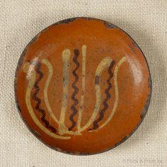 redware plate.