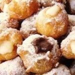 Ricetta+Frittelle+di+Carnevale+ripiene+alla+crema.