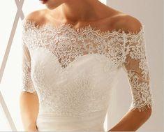 lace bolero overlay.