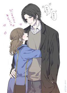 Twitter Romantic Drawing, Romantic Manga, Couple Manga, Anime Love Couple, Anime Couples Drawings, Anime Couples Manga, Anime Cupples, Anime Art, Anime Romans