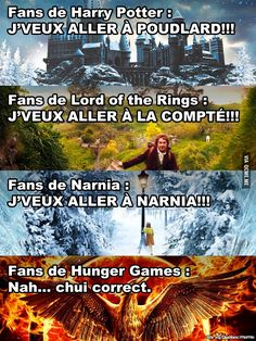 Faut pas déconner non plus ! Harry Potter Animé, Harry Potter Jk Rowling, Funny True Quotes, Funny Memes, Humor Quotes, Hunger Games, Geeks, Rage, Naruto