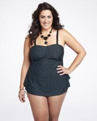tube tankini with two layers   Shop Online at Addition Elle