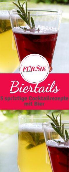 Leckere Drinks mit Bier: 5 easy Rezepte für Biertails