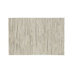 Faust Striped Cowhide 6'x9' Rug - Crate and Barrel