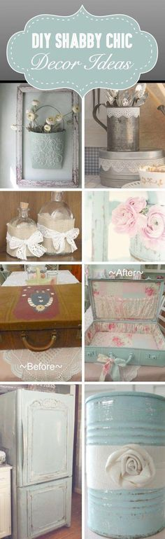 155 Best Manualidades Shabby Chic Images On Pinterest In 2018 How - Manualidades-shabby-chic