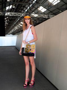 SYDNEY - mercedes-benz fashion week australia ss 13/14, day 1, 04/08/13