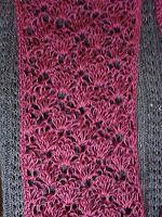 The Art of Zen.......Crochet: Free Lacey Crochet Scarf Pattern