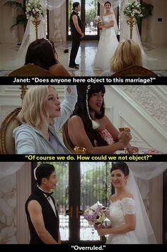 """Fun fact: Janet is me."""