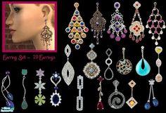 sinful_aussie's Earring Set - 20 Earring's