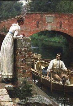 Edmund Blair Leighton Paintings | blair edmund blair leighton english 1853 1922 pre raphaelite painter